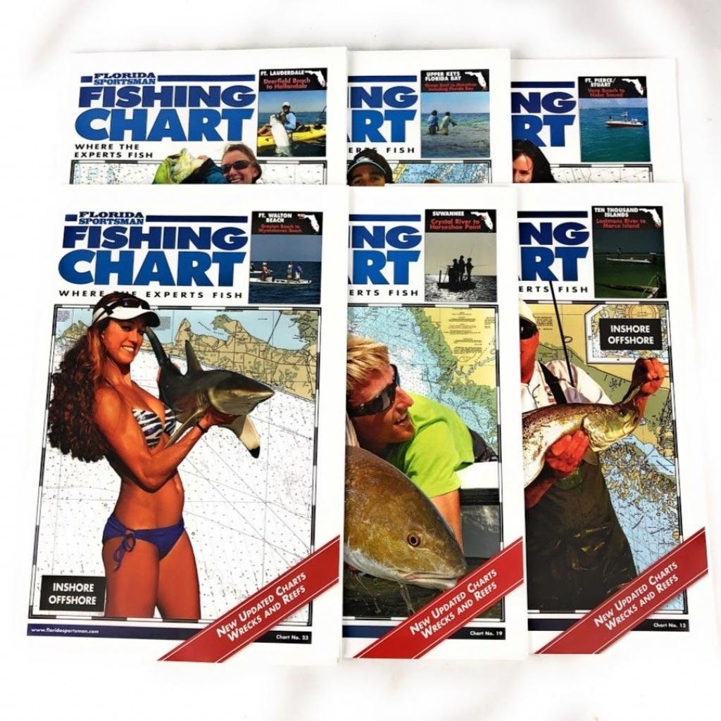 Florida Sportsman Fish Chart Suwannee Crystal River To Horseshoe - Florida Sportsman Fishing Maps
