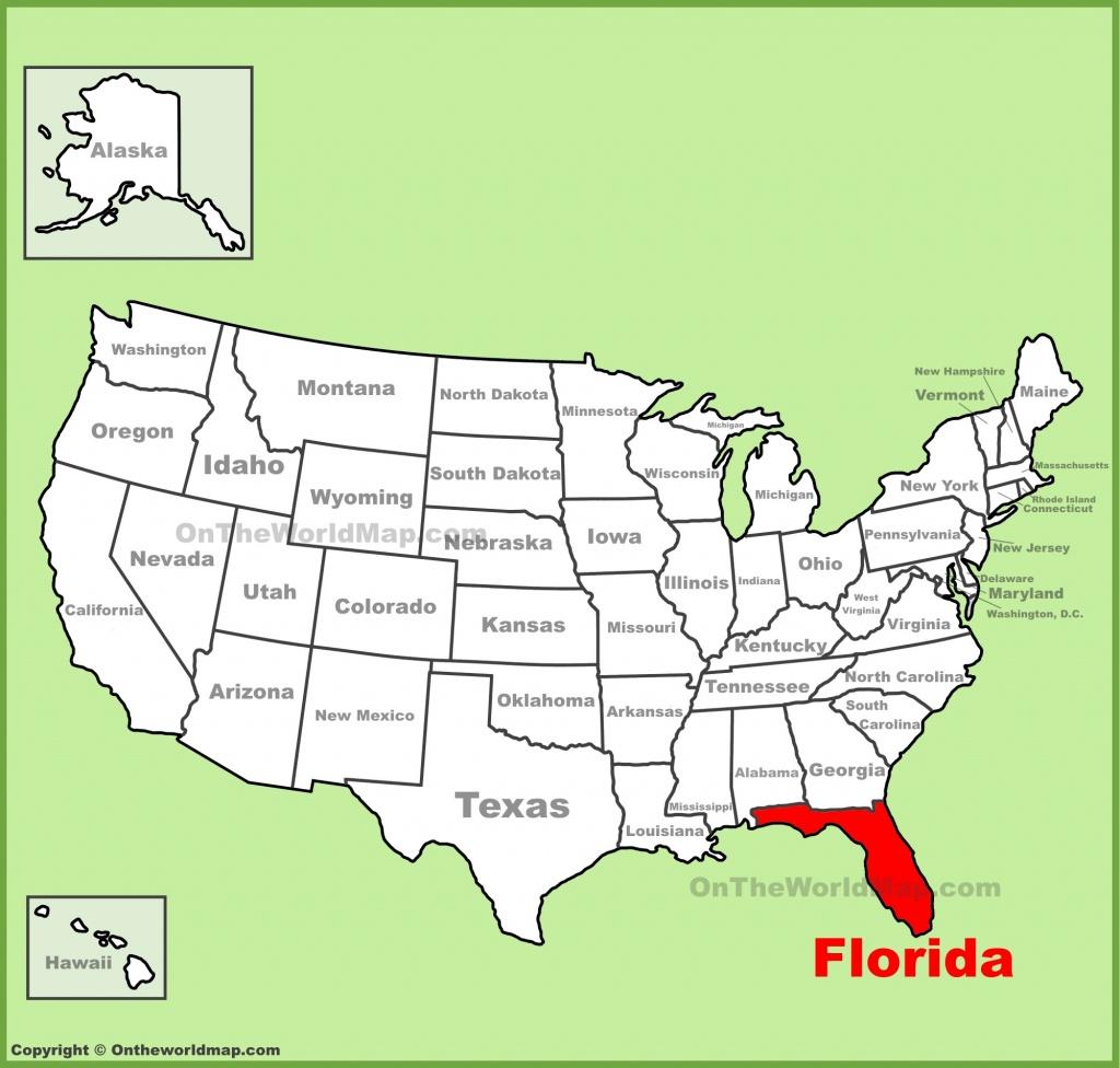 Florida State Maps | Usa | Maps Of Florida (Fl) - Florida State Map Printable