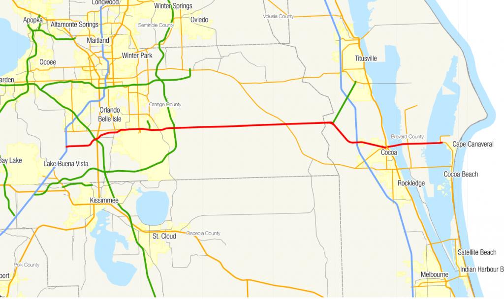 Florida State Road 528 - Wikipedia - Clear Lake Florida Map