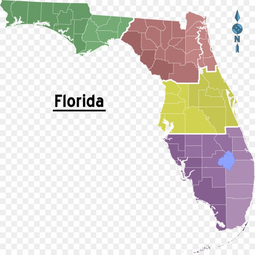 Florida Topographic Map Triangle Chemical Co - Map Png Download - Florida Topographic Map Free