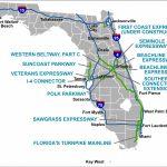 Florida's Turnpike   The Less Stressway   Lantana Florida Map