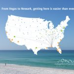 Fly Direct To The Beaches Of 30A – Seaside Florida Vacation Rentals   Seaside Beach Florida Map