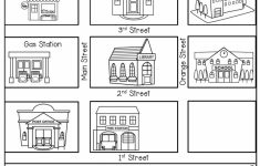 Follow Directions  Read The Directions And Add The Details To The   Printable Map Activities