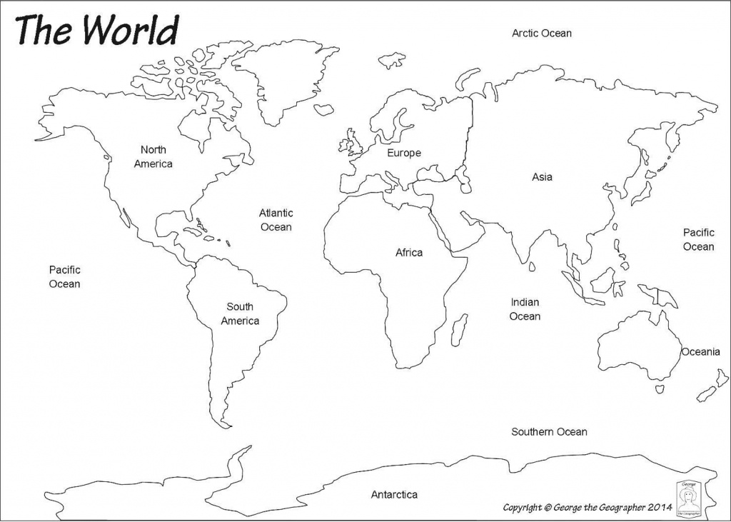 For Printable World Map 0 - World Wide Maps - Printable World Map