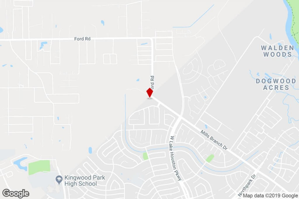 Ford Rd, Porter, Tx, 77365 - Commercial Property For Sale On Loopnet - Porter Texas Map