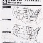 Forecasting Weather Map Worksheet 1 Answers   Yooob   Free Printable Weather Map Worksheets