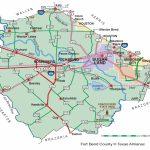 Fort Bend County   The Handbook Of Texas Online  Texas State   Topographic Map Of Fort Bend County Texas