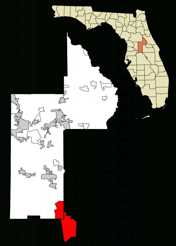 Four Corners, Florida - Wikipedia - Road Map Of Lake County Florida