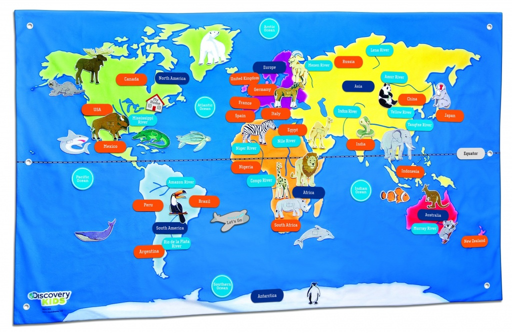 Free Country Maps For Kids A Ordable Printable World Map With - Free Printable World Map For Kids With Countries