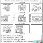 Free Map Skills Worksheets Math Worksheets Free Printable Following   Free Printable Map Activities