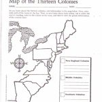 Free Printable 13 Colonies Map … | Activities | 7Th G…   Free Printable Map Activities