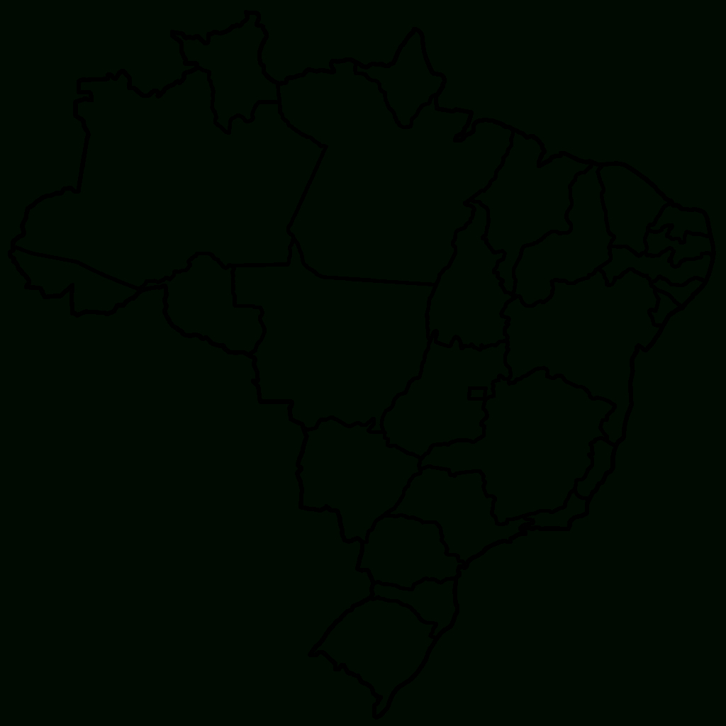 Free Printable Map Of Brazil | Mir-Mitino - Free Printable Map Of Brazil