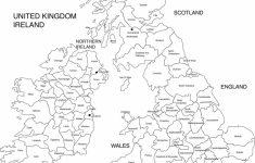 Free Printable Map Of Ireland   Royalty Free Printable, Blank   Printable Blank Map Of Ireland