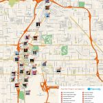 Free Printable Map Of Las Vegas Attractions. | Free Tourist Maps   Printable Las Vegas Street Maps