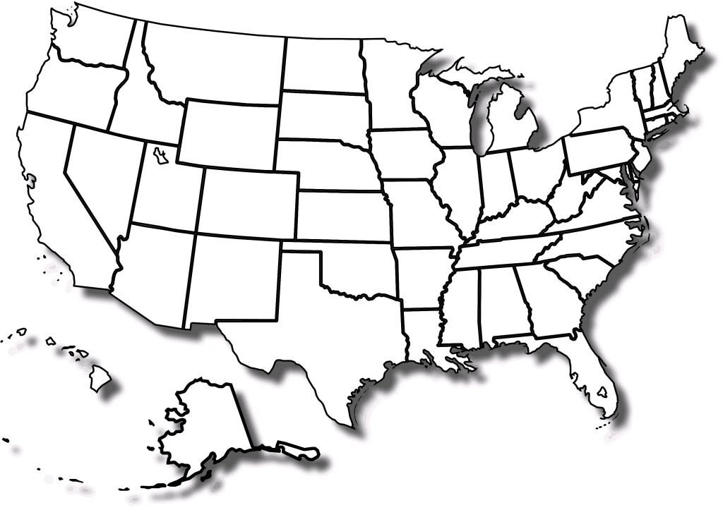 Free Printable Map Of The United States With State Names And Travel - Free Printable Labeled Map Of The United States