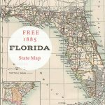 Free Printable Old Map Of Florida From 1885. #map #usa | Maps And   Free Printable Map Of Florida