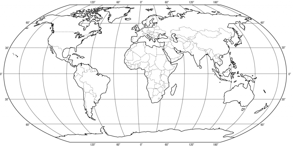 Free Printable World Map Coloring Pages For Kids - Best Coloring - World Map Printable Color