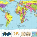 Free Printable World Map | D1Softball   Free Printable World Map