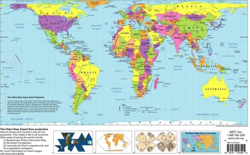 Free Printable World Map   D1Softball - Free Printable World Map For Kids