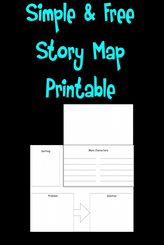 Free Simple Story Map Printable! | Teaching | Simple Stories, First - Printable Story Map For First Grade