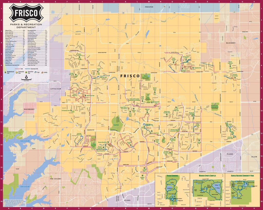 Frisco Texas Official Convention & Visitors Site - Map Of Frisco, Texas - Texas Bbq Trail Map