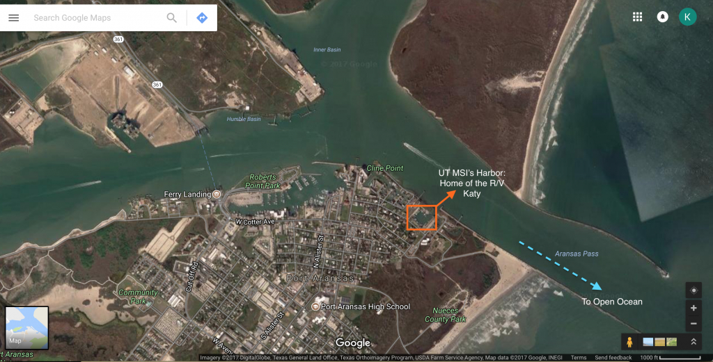From Sea To Shining Estuary – Envirotalks - Google Maps Port Aransas Texas