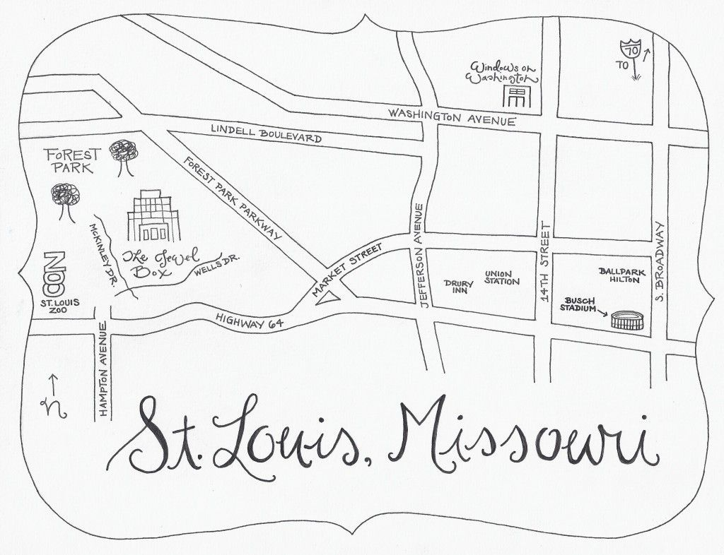 Fun Hand Drawn Map For Wedding Directionsi Like This Idea! | From - Maps For Wedding Invitations Free Printable
