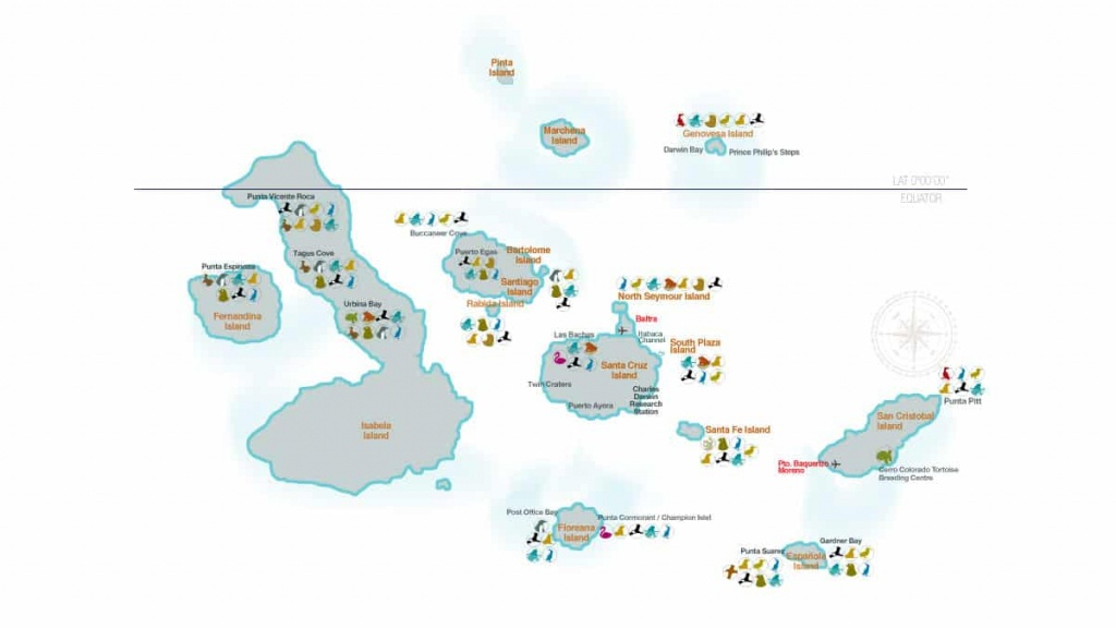 Galapagos Islands Map (98+ Images In Collection) Page 2 - Printable Map Of Galapagos Islands