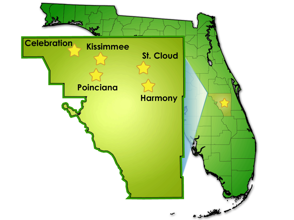 General Information Concerning Osceola County - Map Of Osceola County Florida