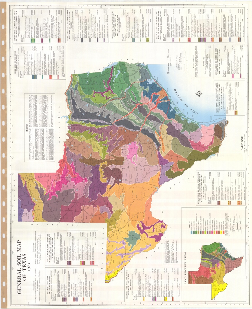 General Soil Map Of Texas (Sheet No. 1) - Esdac - European Commission - Texas Soil Map