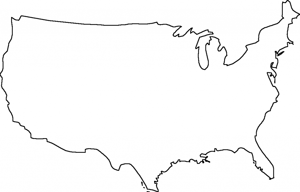 Geography Blog Outline Maps United States - Blank Map Of The - Printable Usa Map Outline