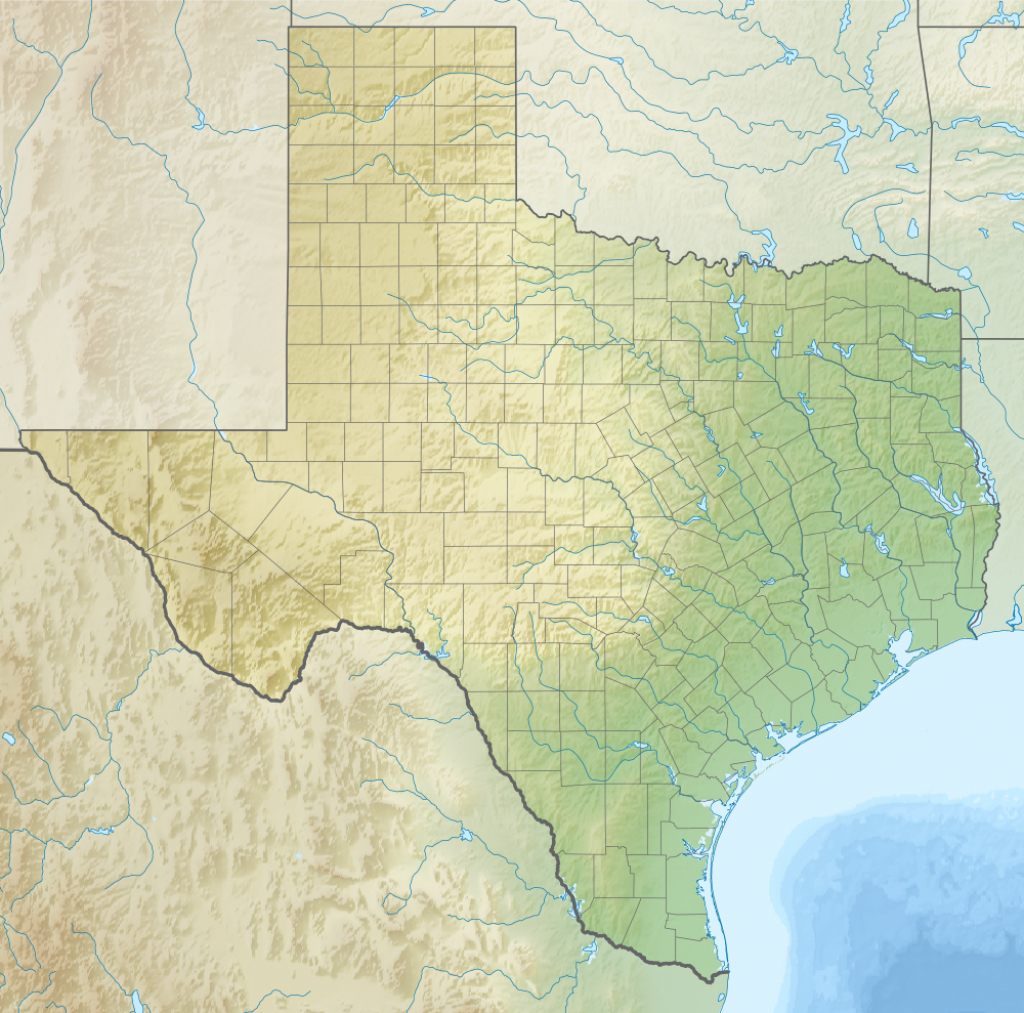 Geography Of Texas - Wikipedia - Show Me A Map Of Texas Usa