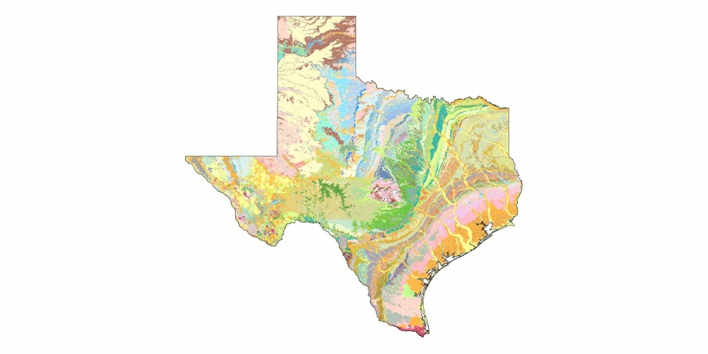 Geologic Database Of Texas | Tnris - Texas Natural Resources - Texas Geologic Map Google Earth
