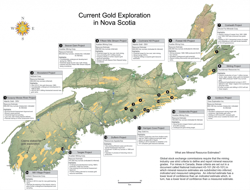Geomatics Association Of Nova Scotia - Maps & Mapping Resources - Printable Map Of Nova Scotia