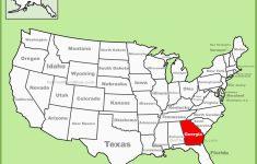 Georgia State Map Printable Georgia State Maps Usa Maps Of Georgia   Georgia State Map Printable