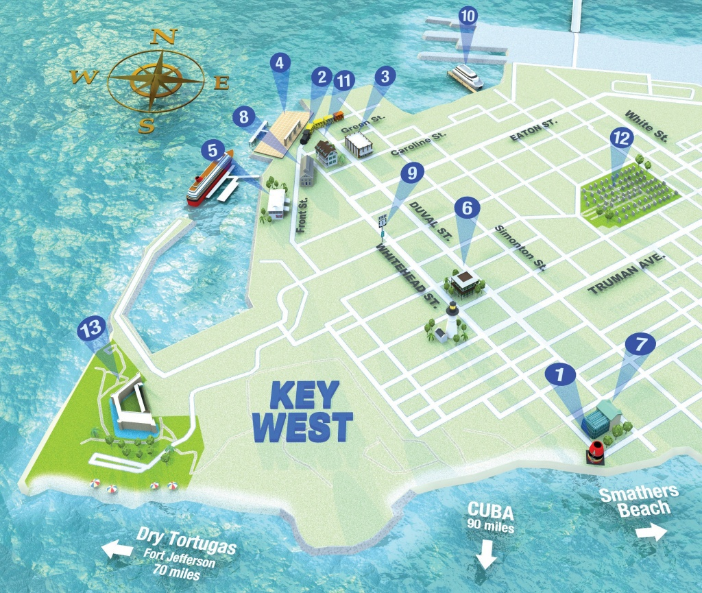 Getting Around Key West | Key West Florida Weekly | Key West News - Key West Street Map Printable