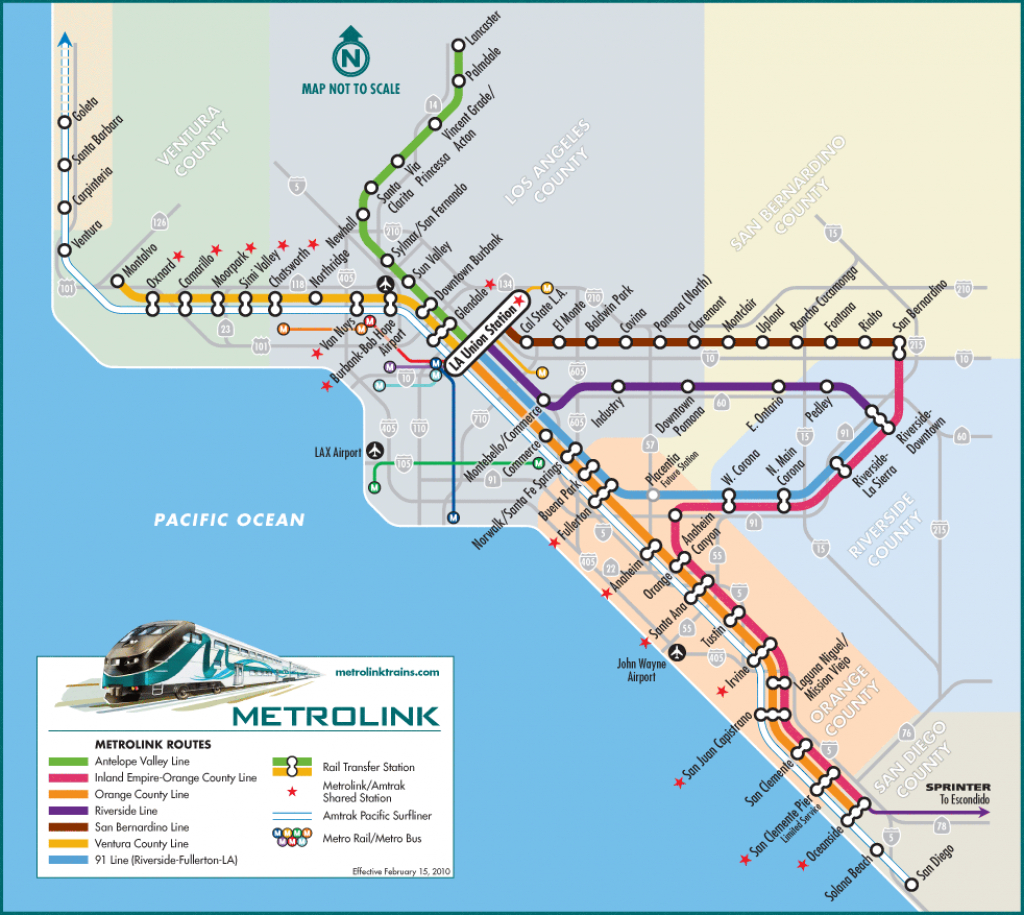 Getting To Little Tokyo | Soha Conference - Southern California Train Map