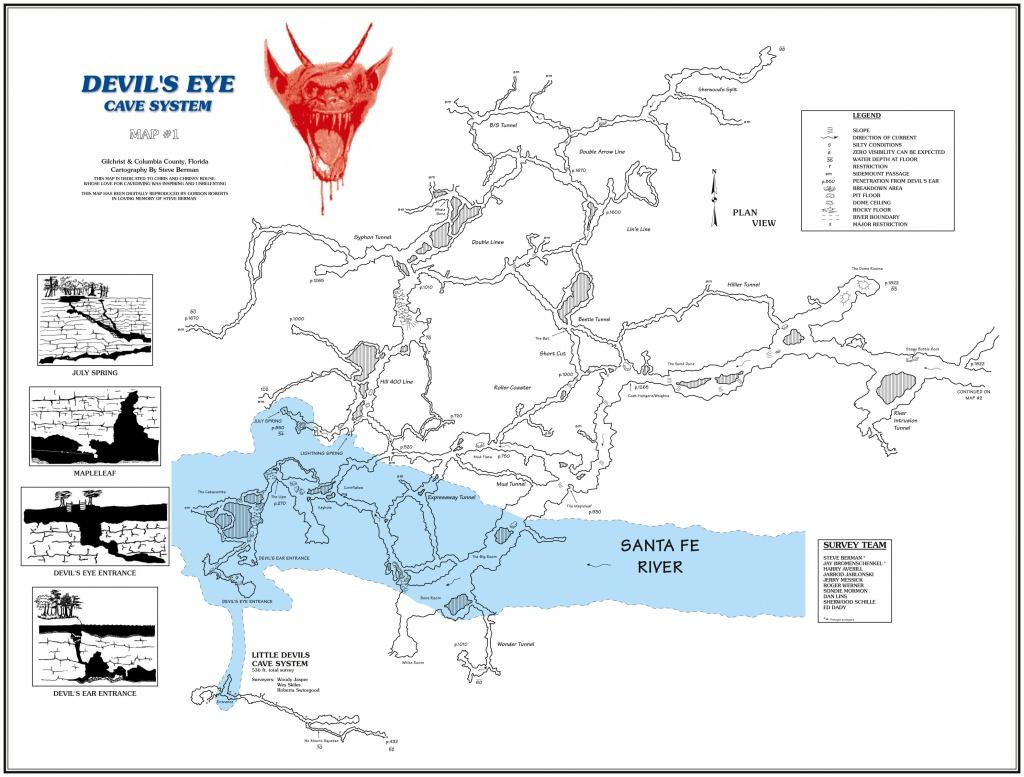 Ginnie Springs Map   Compressportnederland - Ginnie Springs Florida Map