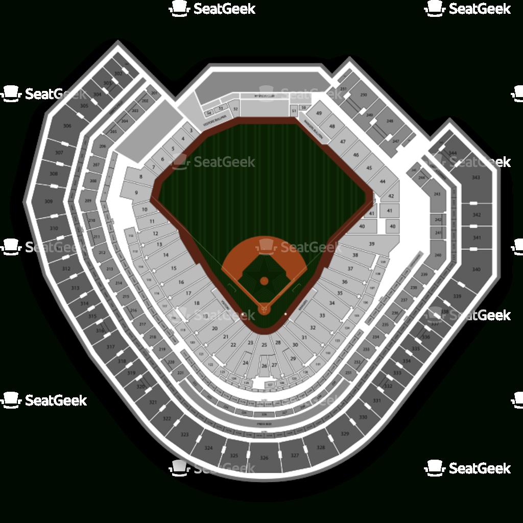 Globe Life Park Seating Chart | Seatgeek - Texas Rangers Stadium Seating Map