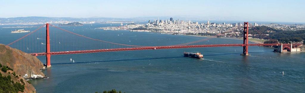 Google Map Of San Francisco, California, Usa - Nations Online Project - Map Of San Francisco California Usa