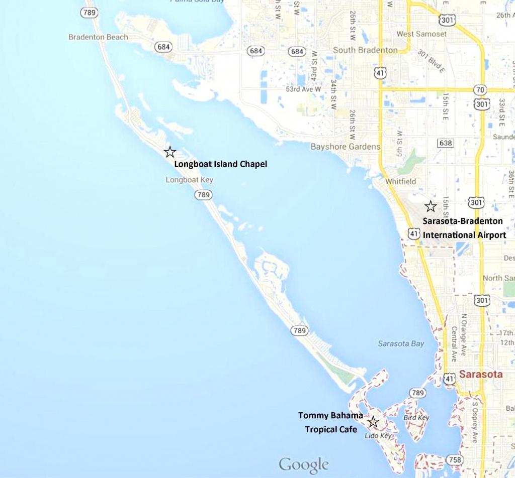 Google Map - Sarasota, Lido Key, Longboat Key, And Anna Maria Island - Google Maps Sarasota Florida