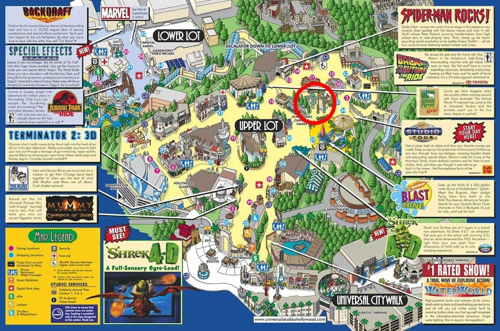 Google Map Universal Studios California – Map Of Usa District - Universal Studios Map California 2018