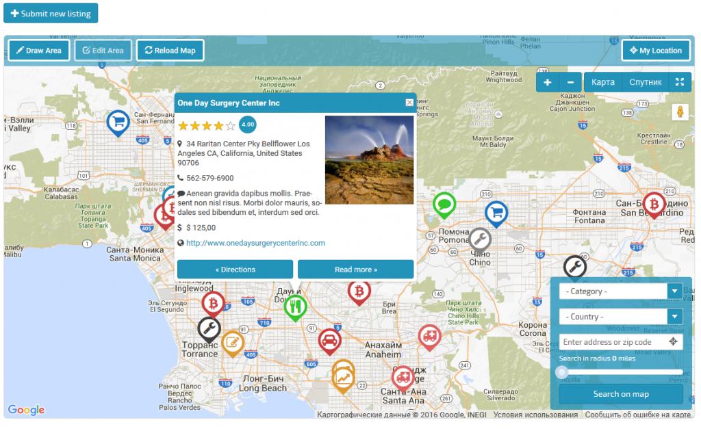 Google Maps Locator Plugin For WordPressshamalli | Codecanyon - Google Maps Calabasas California
