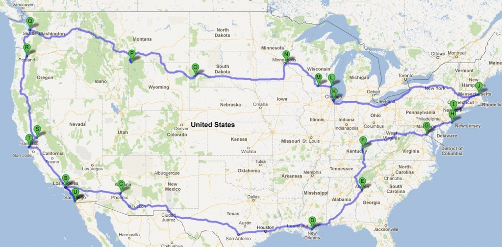 Google Maps Road Trip Usa - Capitalsource - California Road Map Google