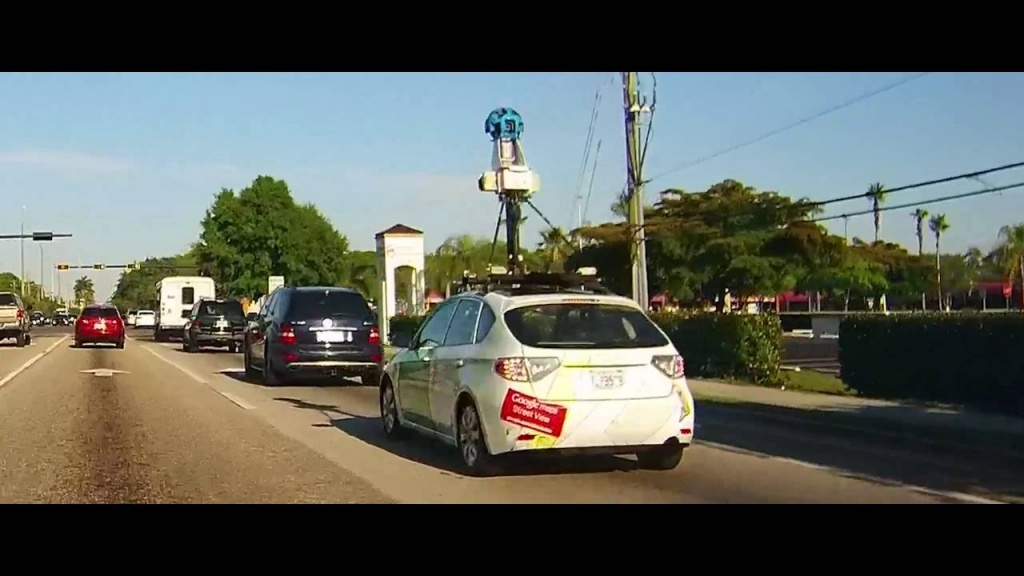 Google Maps Street View Car - Fort Myers, Florida - Street Map Of Fort Myers Florida