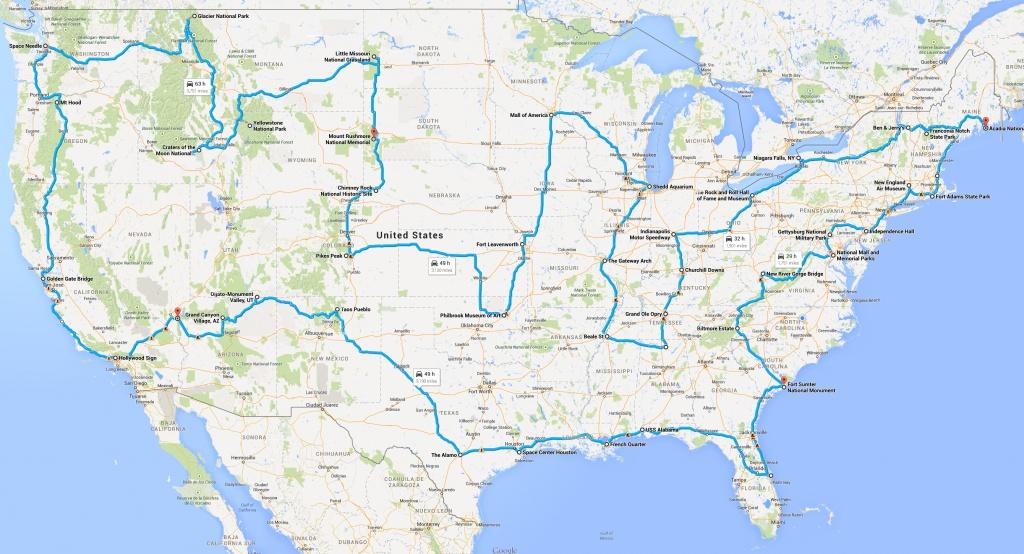 Google Maps Usa States And Travel Information | Download Free Google - Google Maps Hollywood Florida