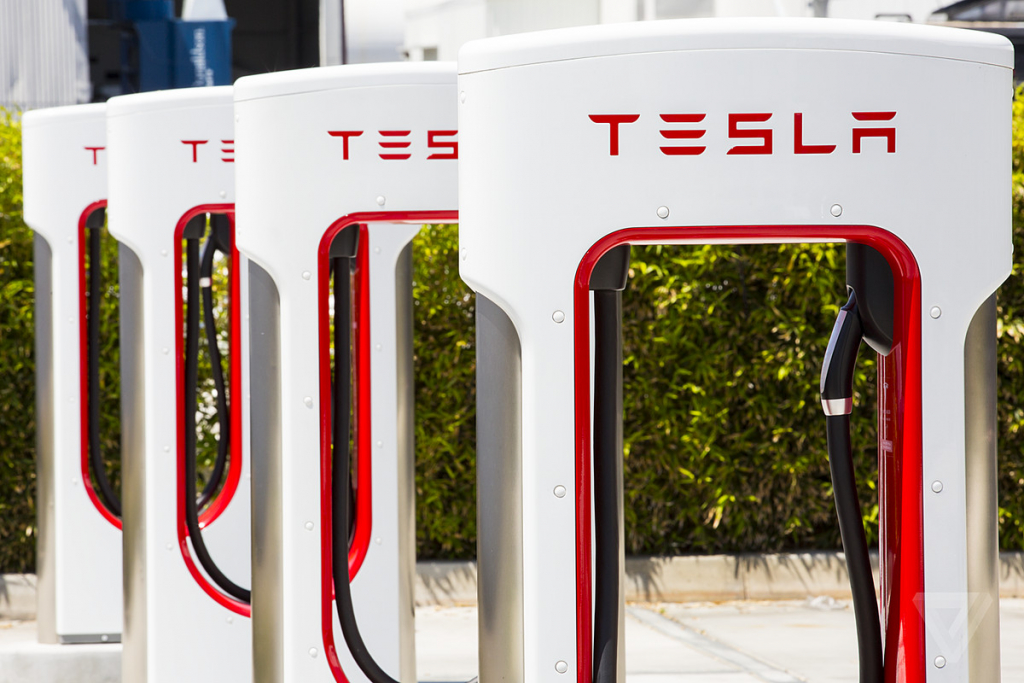 Google Maps Will Now Help You Find Ev Charging Stations - The Verge - Tesla Charging Stations Map California