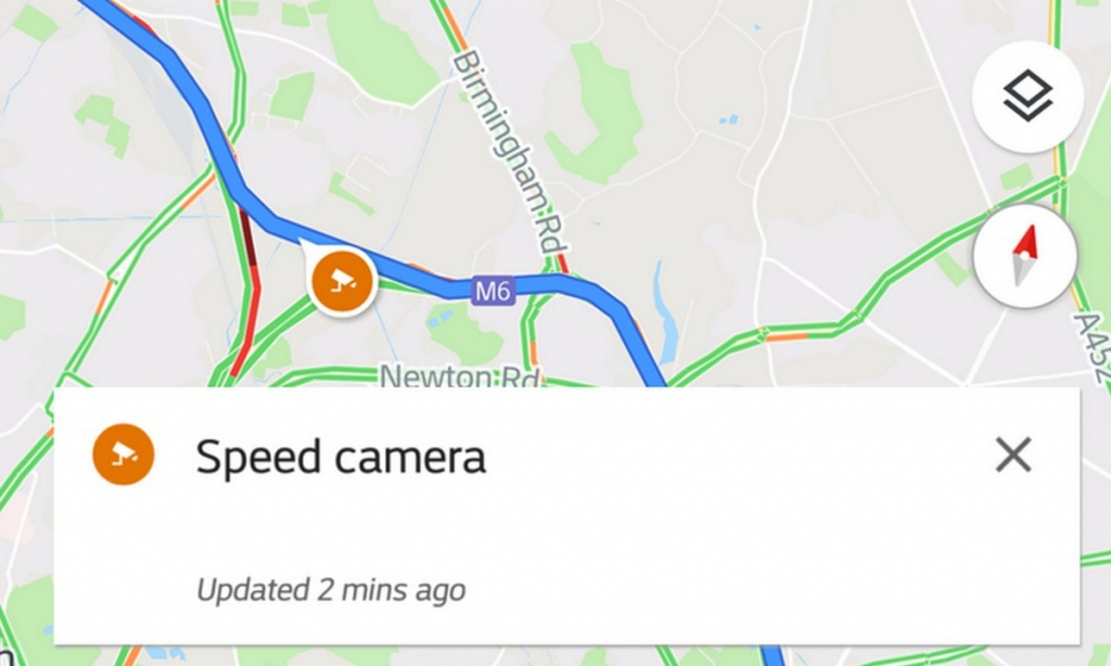 Google Maps Will Now Show You Where Speed Cameras Are - The Florida Post - Sat Nav With Florida Maps