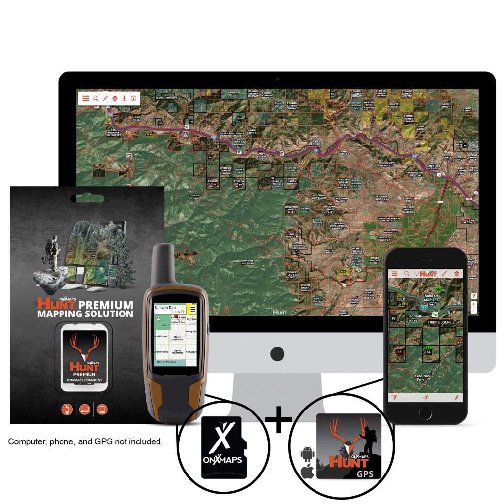 Gps Nation - Onxmap : The Lowest Price On Onxmap Only - Garmin California Map