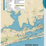 Gulf Shores & Orange Beach 2013 Official Vacation Guide   Orange Beach Florida Map
